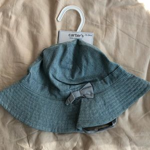 Carters Baby Girl/ Toddler hat.